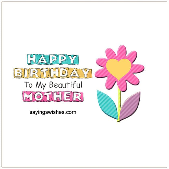 Birthday Poems For Mom Wishes Mother