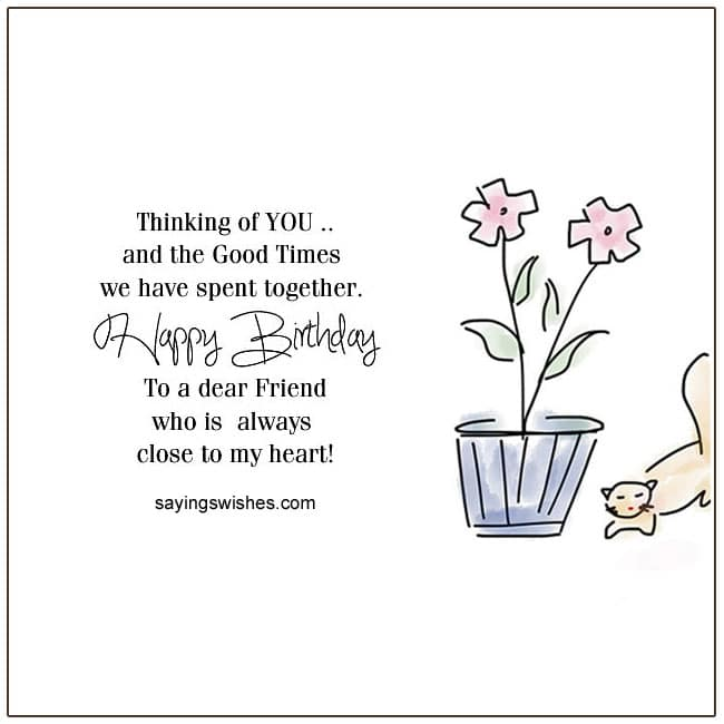 Friend Birthday Wishes For Friends Birthday Poems For Friends