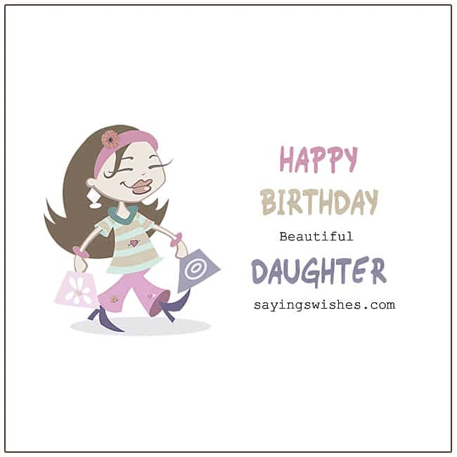 Happy Birthday Daughter Birthday Wishes For Daughter Poems