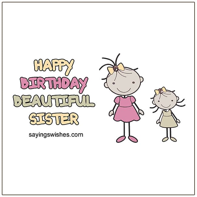 Sister Birthday Wishes For Sister Birthday Poems